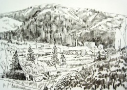 kresba obrazu 140x100