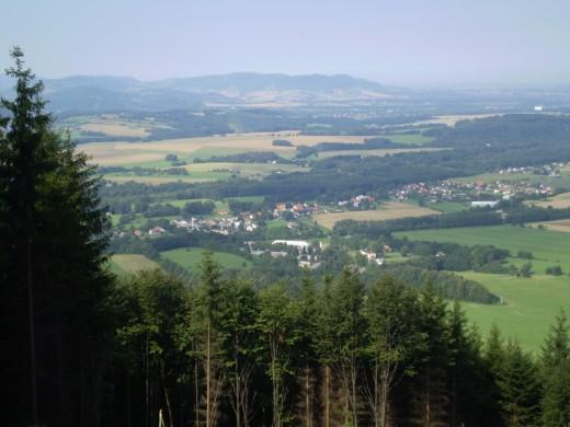 výhled na Frýdlant