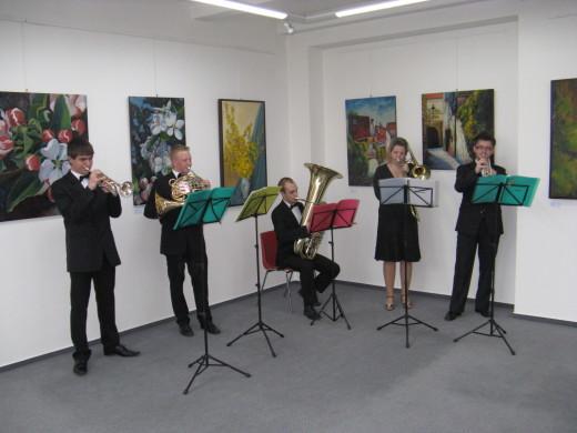 Žesťové kvinteto Janáčkovy konzervatoře